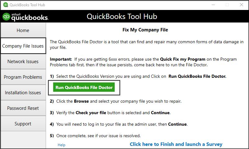 QuickBooks Data Repair File