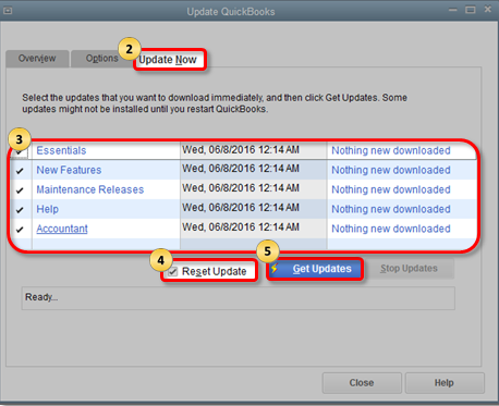 Update your QuickBooks Application