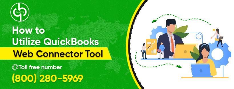 QuickBooks Web connector Tool