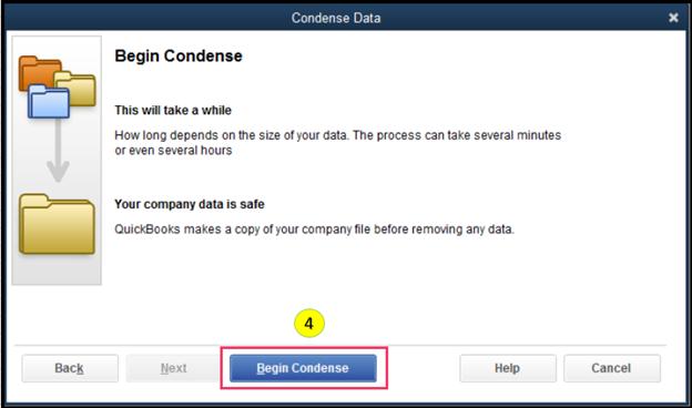 Condense Data