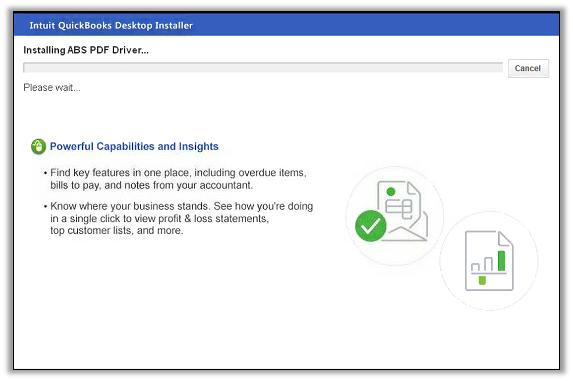 QuickBooks desktop Installer