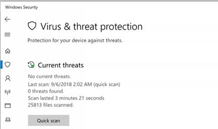 Virus Protection Program